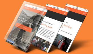 Examples of Jafor's work from his digital media portfolio