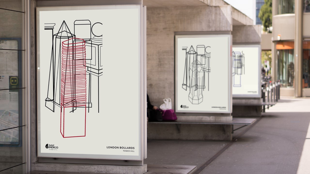 thumbnail_London Bollards Posters